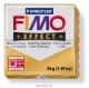 Пластика (запекаемая в печке) Fimo effect золотой металлик брус 56 гр 8020-11